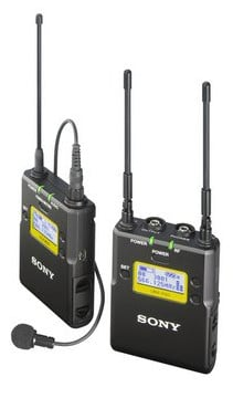 Portable Wireless Bodypack Lavalier Mic ENG System in Channel 42