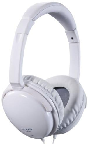 iCON HP-360 Closed Dynamic Studio Reference Headphones in White HP-360-WHITE