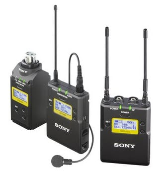 Portable Wireless Bodypack and Plug-on System in Channel 30