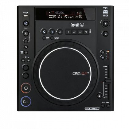Scratch CD Player with MIDI