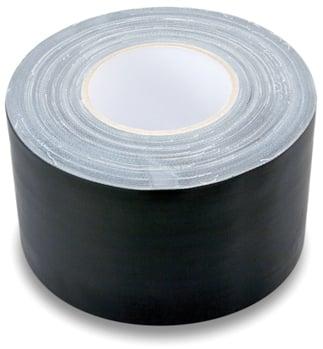 """Hosa GFT-459BK BULK 60 Yard Roll of 4"""" Wide Black Gaffer Tape GFT-459BK-BULK"""