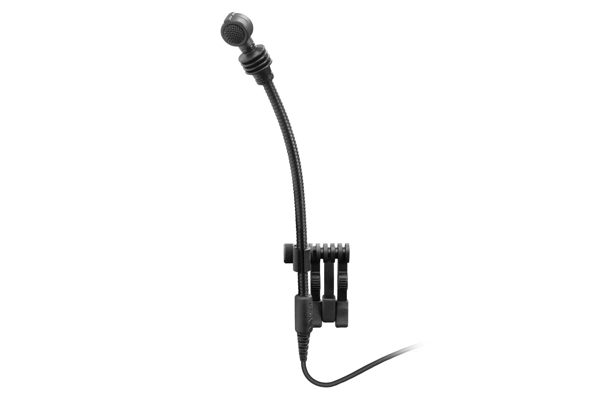 evolution Series Miniature Dynamic Supercardioid Instrument Gooseneck Microphone