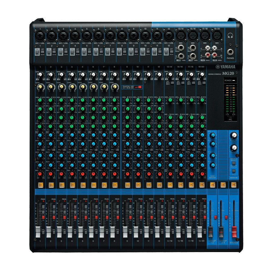 20 Channel Analog Mixer