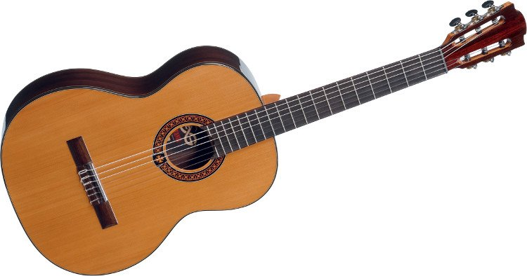 Natural Finish Classical Acoustic Guitar