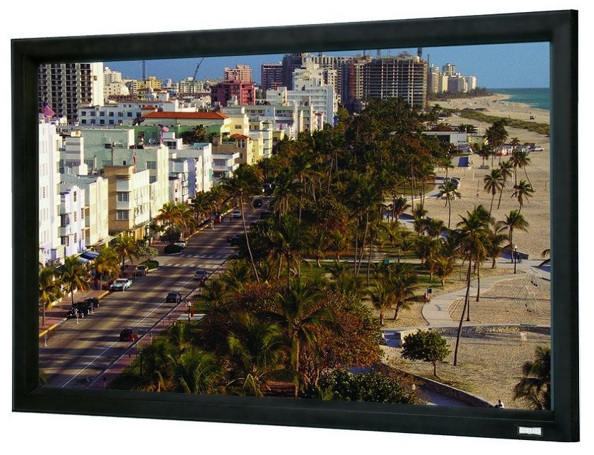 110 x 176 HD Pro 0.9 16:10 Wide Format Cinema Contour Projection Screen
