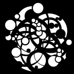 Circle Confusion Steel Gobo