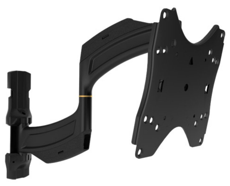 "Medium THINSTALL Dual Swing Arm Wall Display Mount with 18"" Extension"