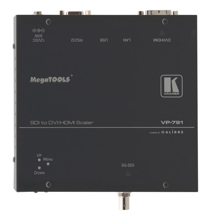 3G HD-SDI to DVI/HDMI Digital HQV Scaler