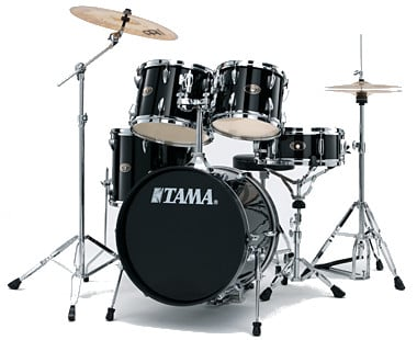5-Piece ImperialStar Drum Set with Meinl Cymbal Pack