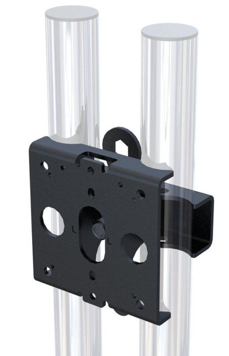 "Heavy Duty Clamp Adapter for 65"" Flat Panel Mount"