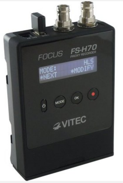 H.264 Recorder with SDI Input/Loopthrough