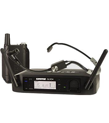 shure glxd14 sm35 glx d series single channel digital wireless mic system with sm35 headset. Black Bedroom Furniture Sets. Home Design Ideas