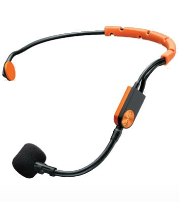 Water-Repellent Cardioid Condenser Headworn Microphone