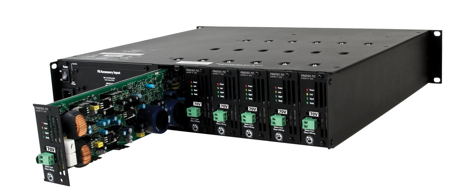 Multi-Impedance Modular Power Amplifier