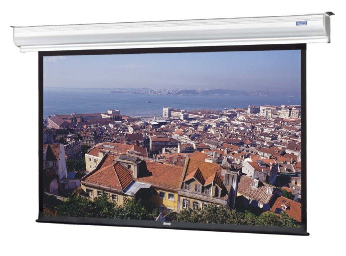 60 in. x 96 in. Contour Electrol 16:10 Wide Projection Screen in Matte White