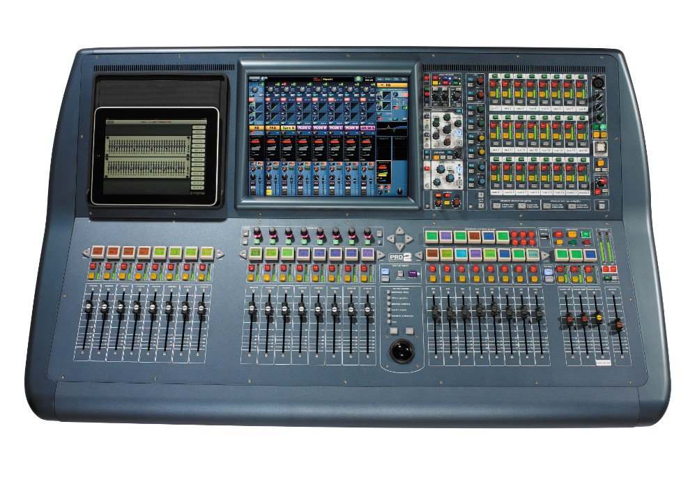 64 Channel Control Centre Surface Digital Audio Mixing System - Install Package