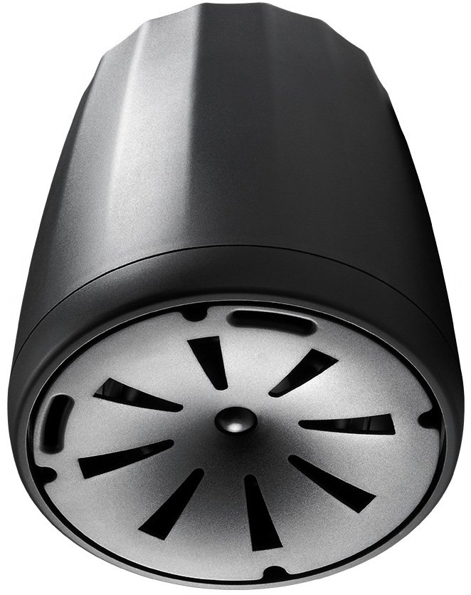 "5.25"" Compact Full Range Pendant Speaker in Black with RBI Radiation Boundary Integration Technology"