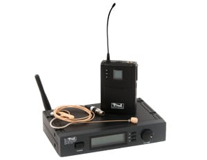 Anchor UHF-7000US/BP  64-Ch Wireless Handheld System with Choice of Handsfree MIcrophone UHF-7000US/BP