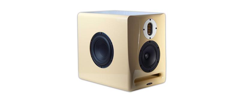 400W 3-Way Studio Monitor in Creme