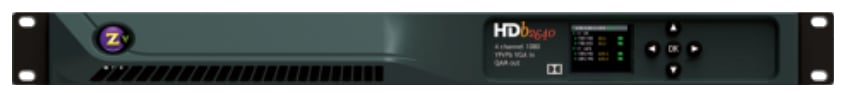 4 Channels HD 1080p/i Digital Encoder - Modulator