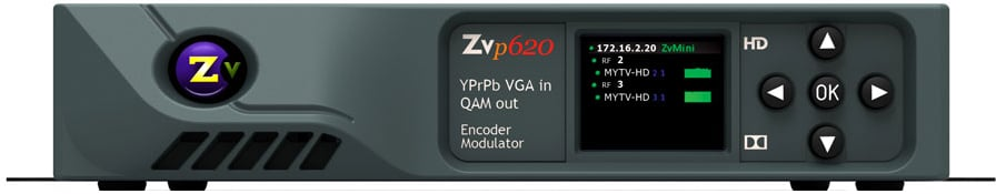 2 Channel Component VGA In - QAM Out Encoder/Modulator