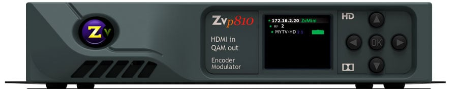 Single Channel HDMI In - QAM Out Encoder/Modulator