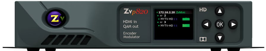 Two Channel HDMI In - QAM Out Encoder/Modulator