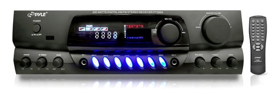 Pyle Pro PT260A Digital AM/FM Stereo Receiver PT260A