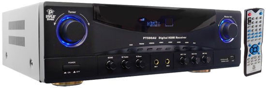 350W 5.1 Channel AM/FM Receiver with 3D Pass-Thru