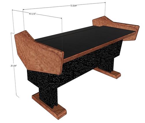 Desk for Yamaha Nuage