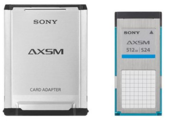 512GB A-Series AXS Memory Card for AXS-R5 RAW Recording