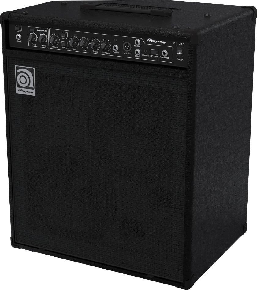 """Ampeg BA-210 450W 2x10"""" Bass Combo Amplifier BA-210"""