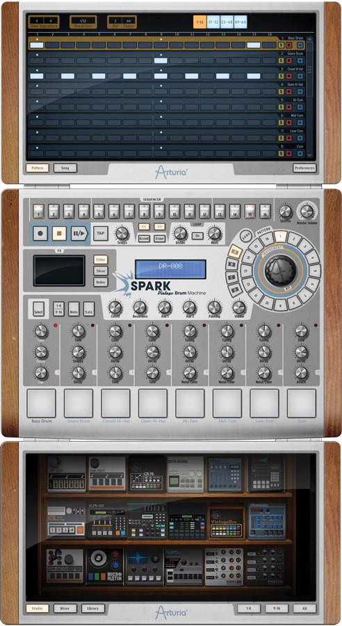 Drum Machine Software Virtual Instrument