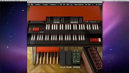 Vintage Organ Software Virtual Instrument