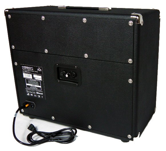 "1x12"" 110W Full Range Flat Response Powered Electric Guitar Speaker Cabinet with Bluetooth"