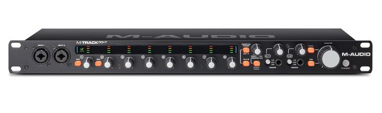 8-In/8-Out USB Audio Interface