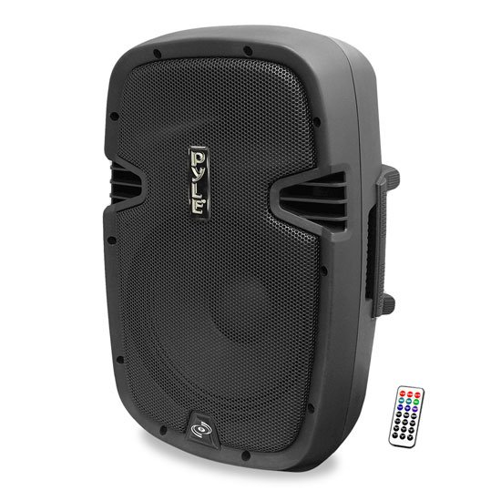 "12"" 1200W Portable Bi-Amped 2-Way PA Speaker with Bluetooth"