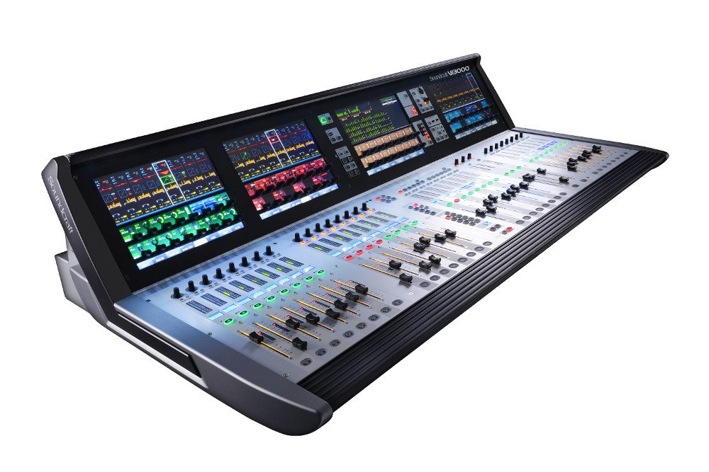 soundcraft vi3000 96 channel digital mixer full compass. Black Bedroom Furniture Sets. Home Design Ideas