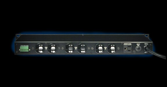 3 Sequenced 15 Amp Rackmount Power Distribution System