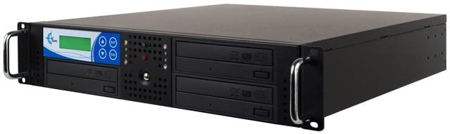 3-Target Studio Rackmount CD/DVD Duplicator