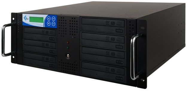 7-Target Studio Rackmount CD/DVD Duplicator