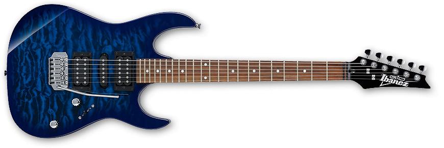 Transparent Blue Burst Gio Series Electric Guitar