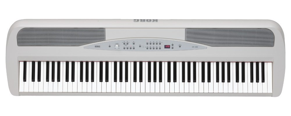 88-Key Stage Piano in White