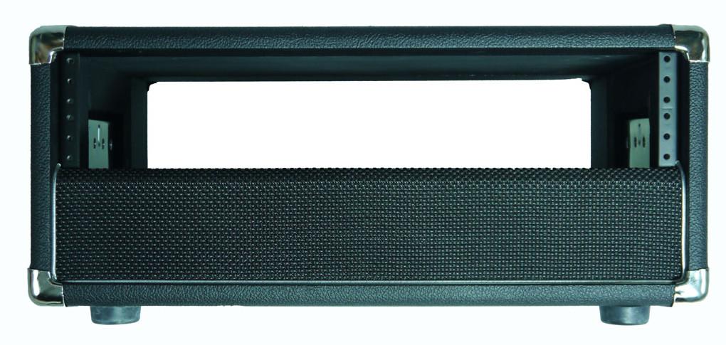 Short 4RU Rack Enclosure for Guitar Modelers