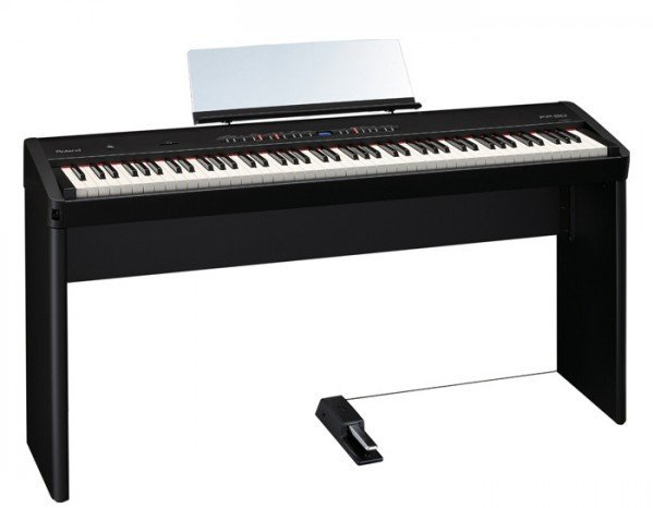 88-Key Digital Piano with KSC-44 Stand in Black