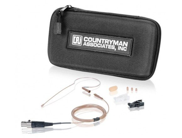 E6 Earset Microphone for Phantom-Powered wireless in Tan with Duramax