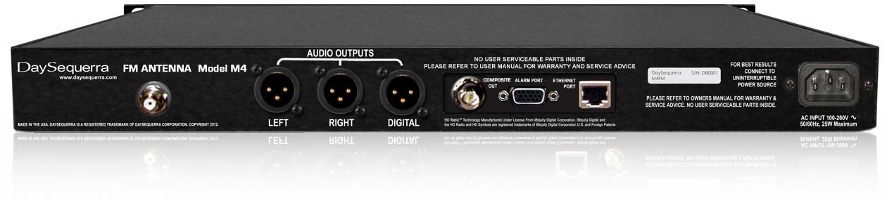 DSPrecision FM / HD Radio Analog Modulation Monitor