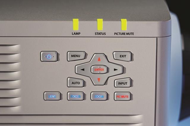 5,950 ANSI Lumens 1-Chip Single Lamp DLP Projector