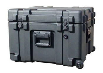 Roto Mil-Std Waterproof Case with Foam and Wheels