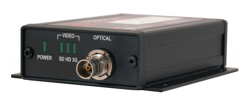 Transmitter for 3G/HD/SD-SDI Transmission Over One Single Mode or Multimode Fiber